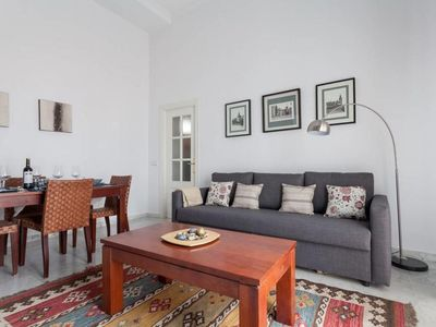Photo for Wish Go To Cathedral apartment in Santa Cruz – Catedral with WiFi, air conditioning, balcony & lift.