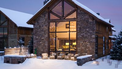 Photo for Mountain-modern luxury cabin at the base of Jackson Hole