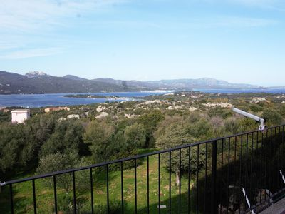 Photo for Fantastic panoramic views near Porto Rotondo- with pool and tennis court