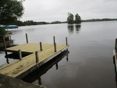 New private dock and boatslip, 2017