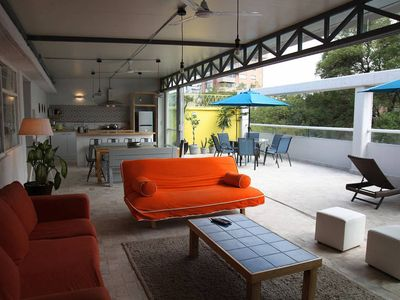Photo for Spacious PH suite, huge terrace, superb location, la Condesa