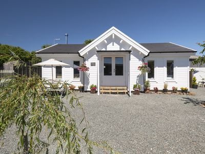 Photo for Sandymouth Lodge -Fabulous Family Friendly Log Cabin Close to Sandy Beaches