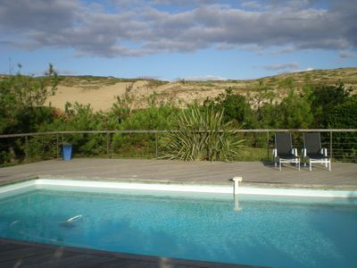 Photo for House with pool and large garden facing the dune