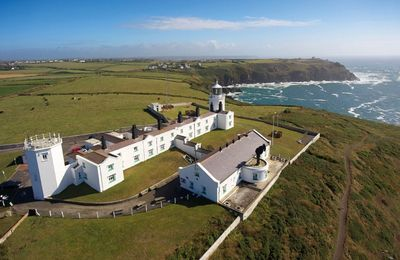 Lizard Lighthouse Cottages and visitors centre