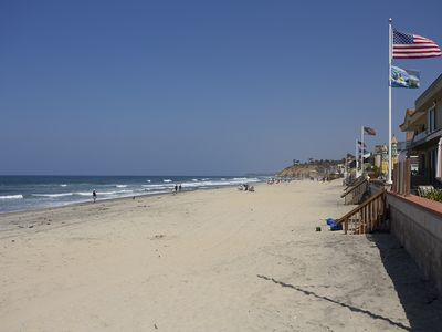Photo for Steps to the beach in Del Mar at 23rd St in prestigious Beach Colony