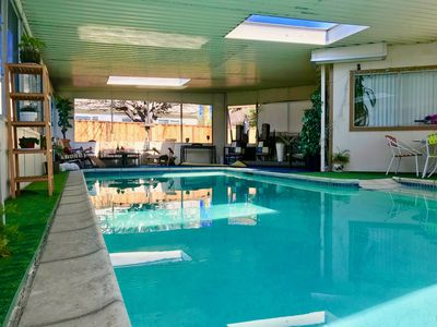 Photo for Lovely and cozy-  Pet Friendly with Indoor heated pool