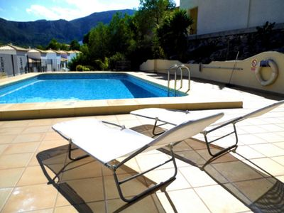 Photo for ELEGANT 3 BED HOUSE NEAR PEGO, PRIVATE WITH FANTASTIC VIEWS, SHARED LARGE POOL