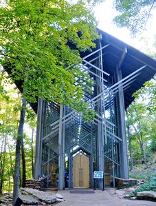 Thorncrown Chapel - gorgeous setting for weddings.