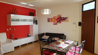 Photo for Bright apartment with private garage near the walls of Lucca.