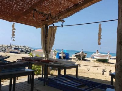 Photo for Central apartment 300m beach & station and 30min train BCN