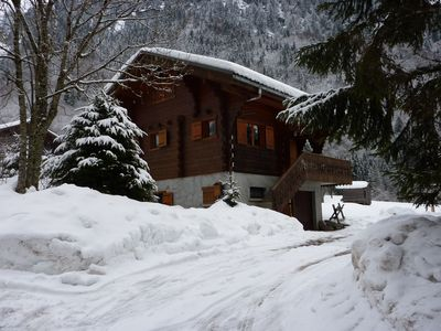 Photo for Traditional Ski Chalet with Stunning Views