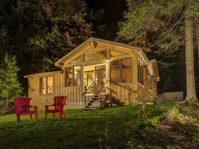 Photo for Lakefront Privacy and Romance found at Camp Stardust