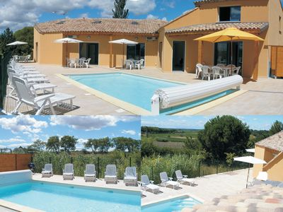 Photo for Quiet charming villa with a big terrace and swimming pool