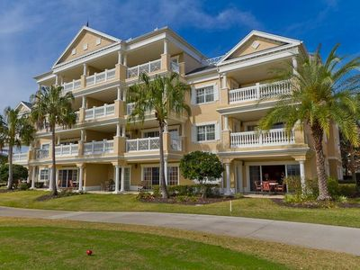 Photo for Fabulous! Ground Floor 3 Bed/3 Bath Reunion Condo - Resort Access Available!
