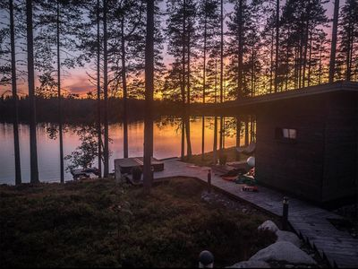 Photo for Guest House with great lake view, Ähtäri, Finland