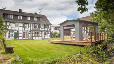 Photo for Old half-timbered house of a former water mill, 600 sqm garden