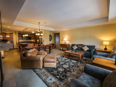 Photo for Spacious, Bright, Luxe 3 Bedroom Condo | Near the Slopes