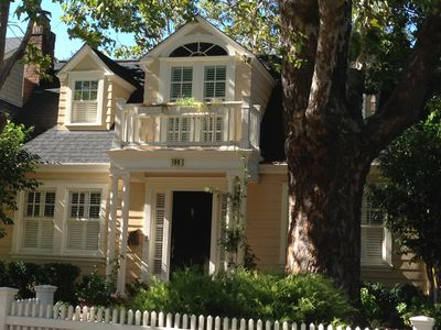 Photo for Adorable, classic home near wonderful shops