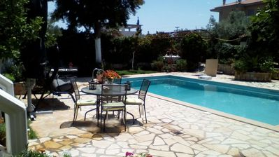 Photo for Jacuzzi Pool House - In Chalcis