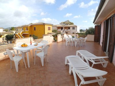 Photo for Apartment in Porto Pino, 4 beds.