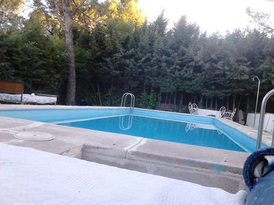 Photo for Large room near Madrid, with summer pool, with lots of countryside