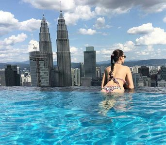 Photo for Rooftop Pool KLCC View at Face Suite KL