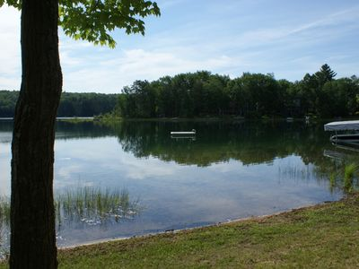 Photo for Heart Lake, All sports lake, Fishing,  Snowmobile trail, Cross country, Swimming