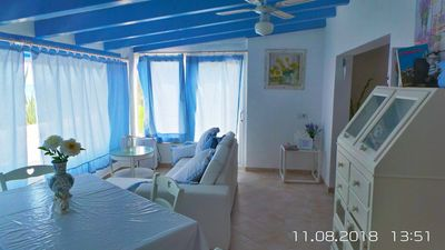 Photo for HOUSE WITH DIRECT ACCESS TO THE SEA