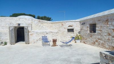 Photo for Beautiful Trullo in the countryside with Gazebo, 2 Bedrooms and 2 Bathrooms in Puglia