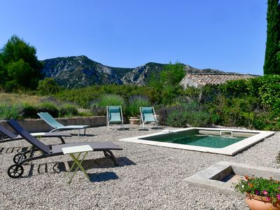 Photo for Le Mas des Genets, classified 4 ****, private swimming pool, air-conditioned in St Rémy de Provence