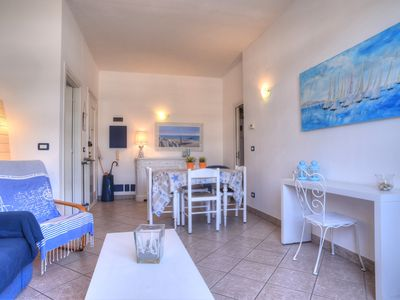 Photo for Attic a few meters from the sea, 2 bedrooms 2 bathrooms, large terrace, 5 + 2 beds