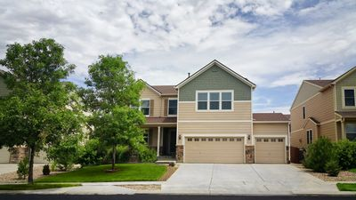 Big Beautiful Home with 3 car garage and large driveway.