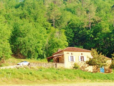 Photo for Vintage Holiday Home in Villefranche-du-Périgord with Sauna