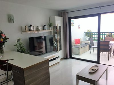 Photo for Spacious 1 bed Sea View Apartment close to beach and all amenities