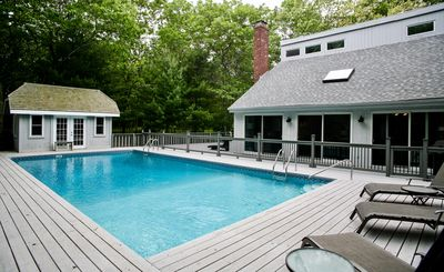Photo for Family Friendly Bright Immaculate East Hampton House with Large Heated Pool