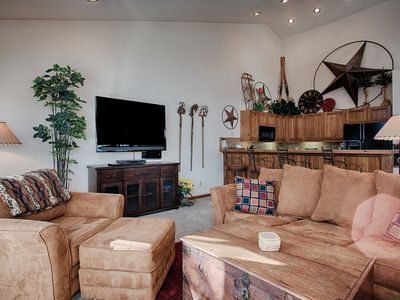 Photo for Quick Walk to Main St Breckenridge! Outdoor Hot Tubs/Pool! Attached Garage, Slee