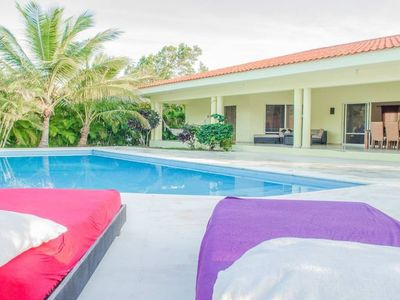 Photo for Private villa with pool in sosua for large groups