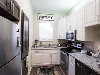 Photo for 2019 Renovated Loft Apartment - 2 Blocks from UF
