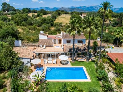 Photo for ☼ Can Tomeu - Finca with pool and paradise garden