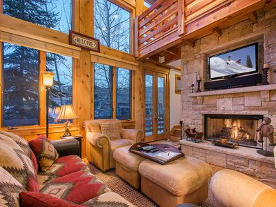 Photo for Stunning 3BR Cabin Walkable to Main St - Book With Flexible Cancellation!