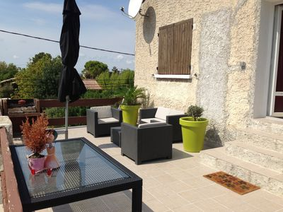 Photo for 2BR Apartment Vacation Rental in Marignane, PACA