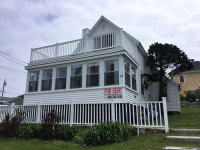 Photo for York Beach Oceanfront Cottage: Steps from Short Sands!