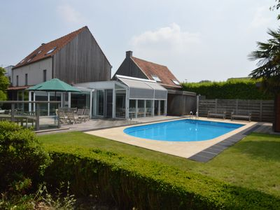 Photo for Beautiful villa for groups with swimming pool, sauna and free WiFi