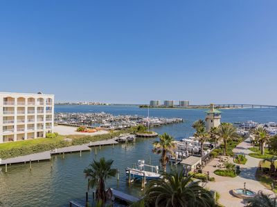 Photo for Gorgeous 3 Bedroom, 3 Bath Bay Front Condo! Lazy river!