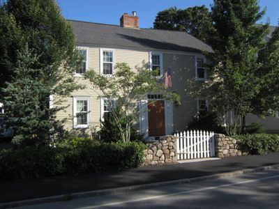 Photo for Historic Kennebunkport home in the heart of the village.  Steps to Dock Square.