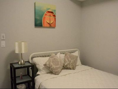 Photo for Bright. Clean. 1 bed 1 bath condo, Steps to biggest YMCA and Hospital & many mor