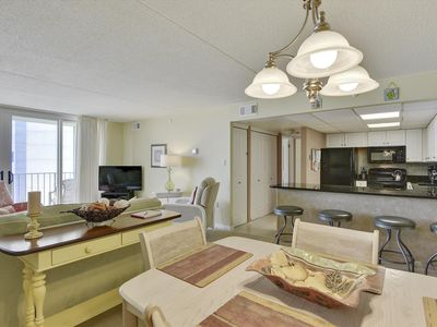 Photo for LINENS &  DAILY ACTIVITIES INCLUDED*! 2 Bedroom, 2 Bath ocean-view condo at the Quay.
