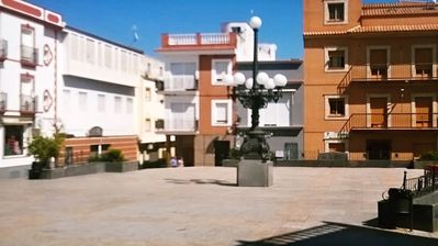 Photo for Apartment with 3 bedrooms in Calamonte, with wonderful city view and terrace