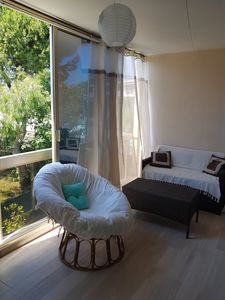 Photo for Apartment sleeps 6 near sea and shops