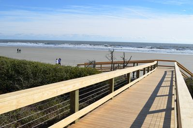 Kiawah's 10 miles of undisturbed beach are beautiful!